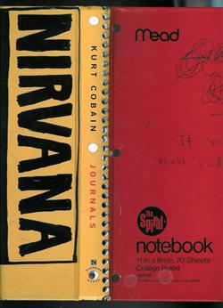 обложка книги Дневники Курта Кобейна